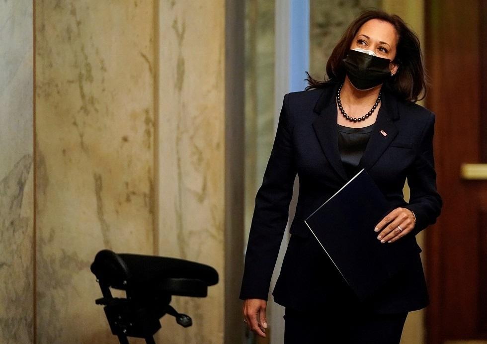 كامالا هاريس نائب رئيس الولايات المتحدة جو بايدن