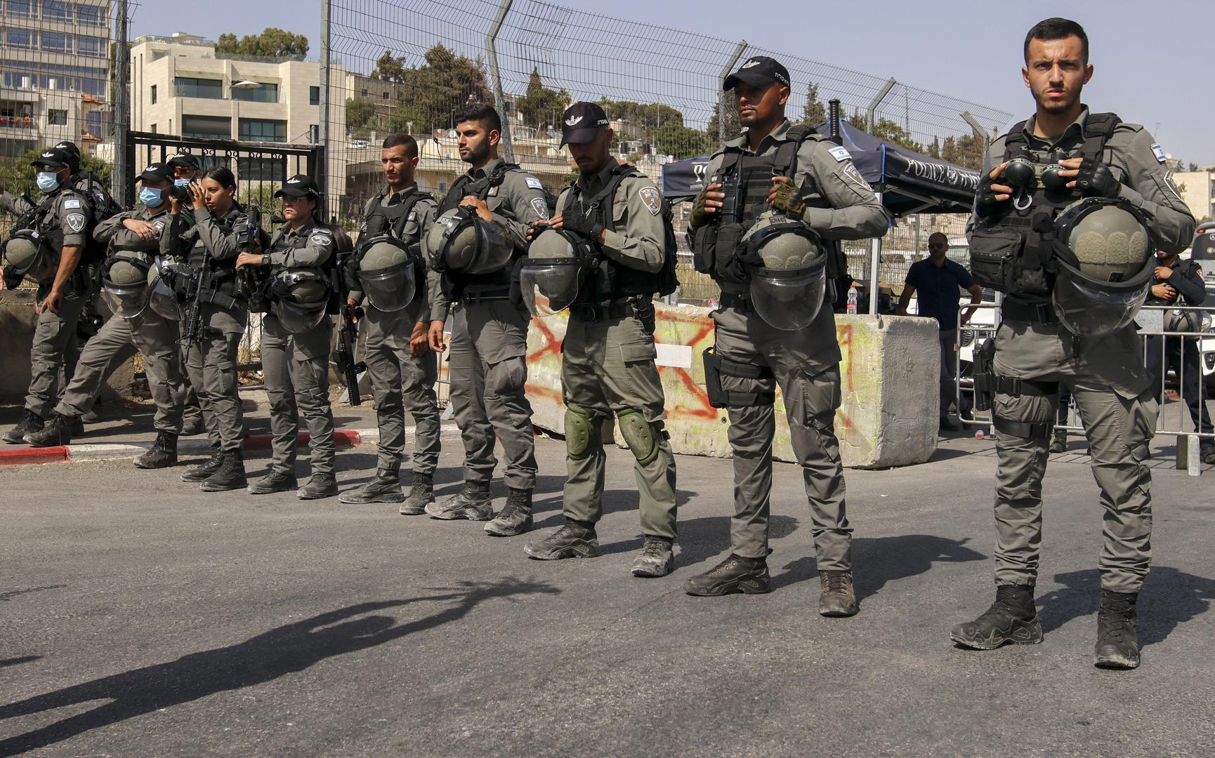 عناصر من الشرطة الإسرائيلية