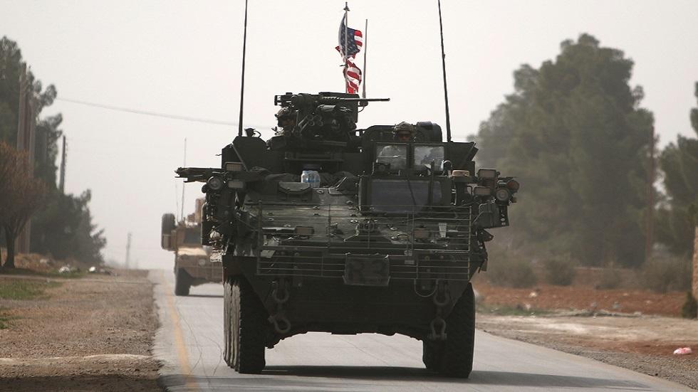 مركبات عسكرية أمريكية في الشمال السوري (صورة أرشيفية)