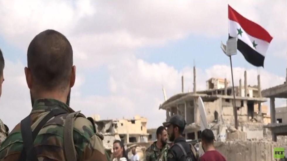 عودة الهدوء إلى حي درعا البلد جنوب سوريا