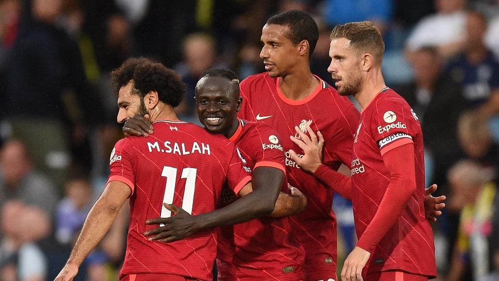 ليفربول يهزم ليدز يونايتد في مباراة تاريخية لنجمه صلاح (فيديو)