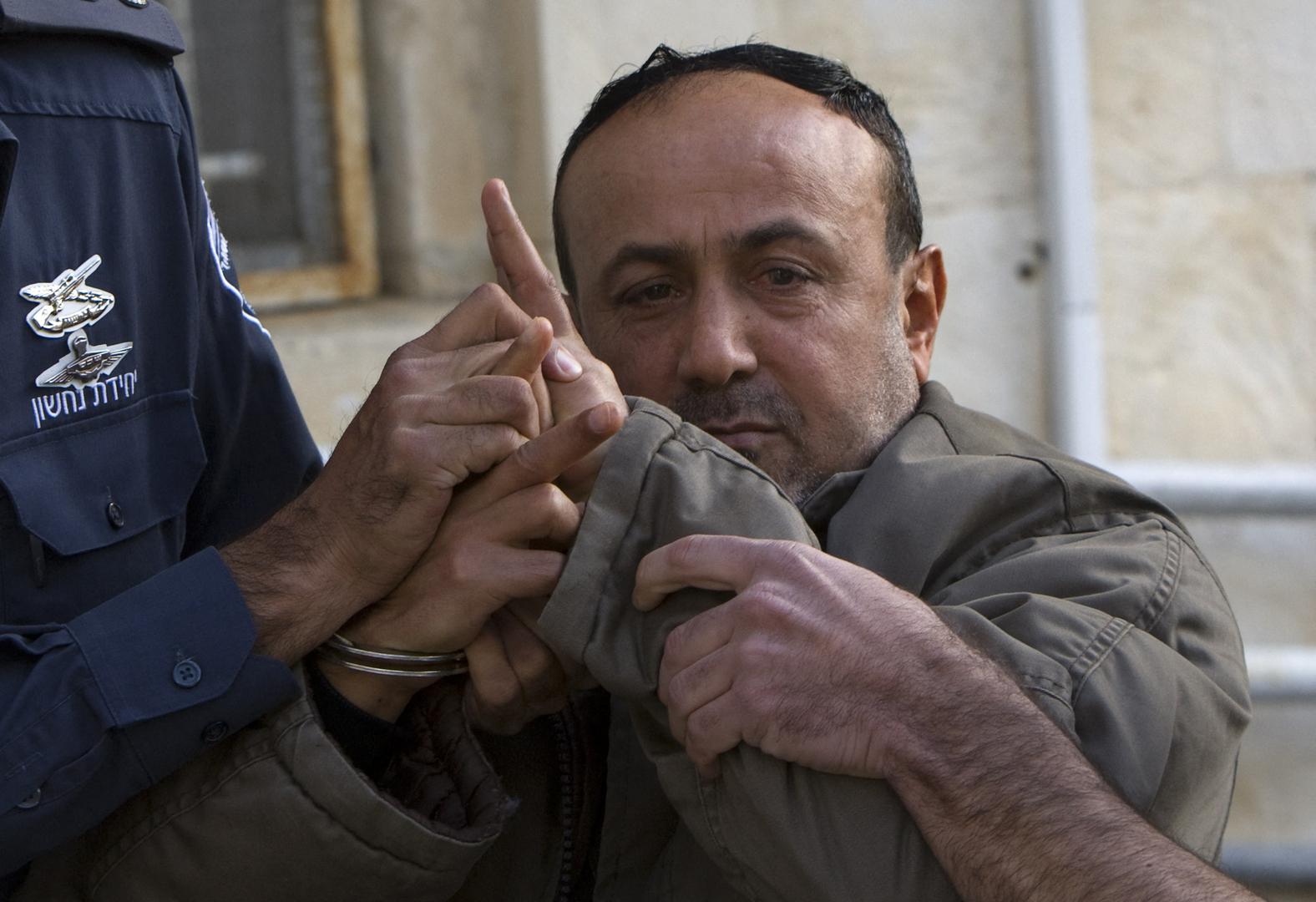 الأسير الفلسطيني والقيادي بحركة فتح مروان البرغوثي