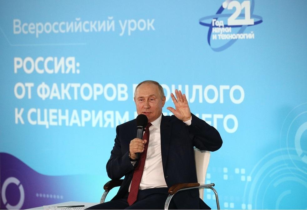 بوتين: دخولي إلى الحجر الصحي غير مستبعد