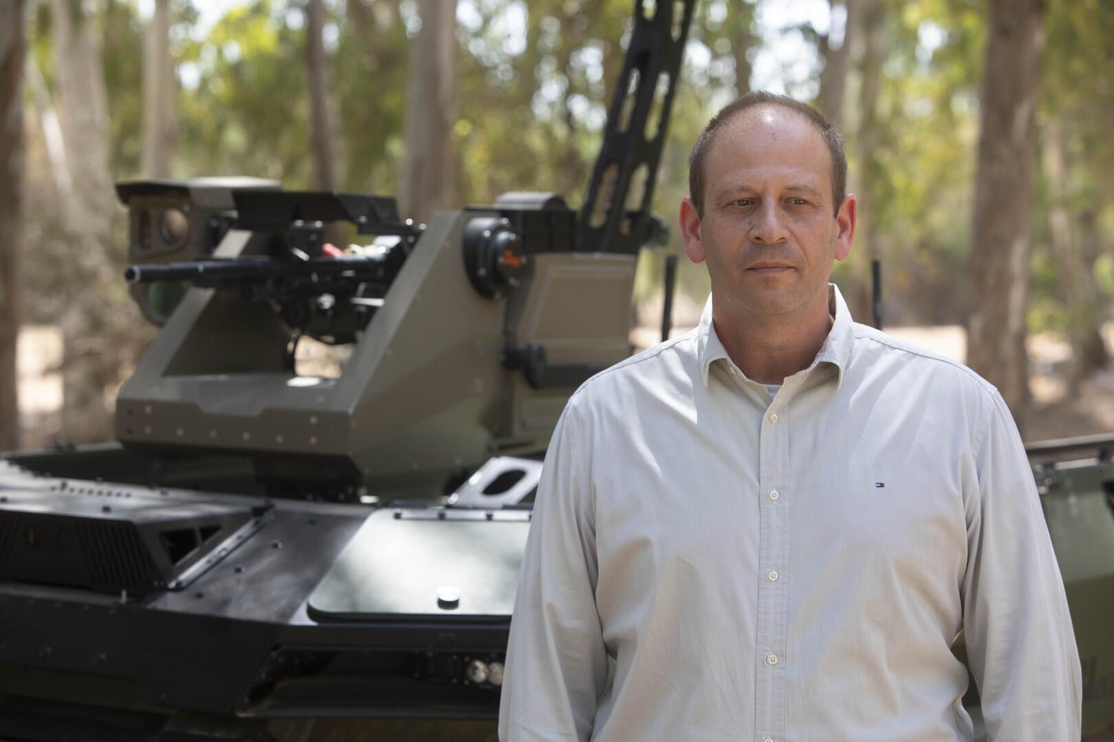 روبوت إسرائيلي مسلح