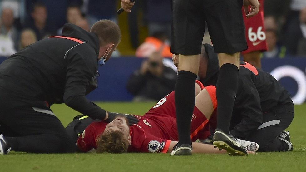 لاعب ليفربول يوجه رسالة مؤثرة لجمهوره بعد تعرضه لإصابة مروعة!