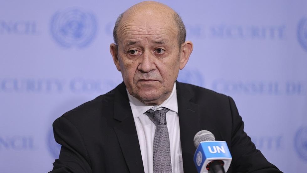 لودريان: فرنسا تخصص 100 مليون يورو مساعدات إنسانية لأفغانستان