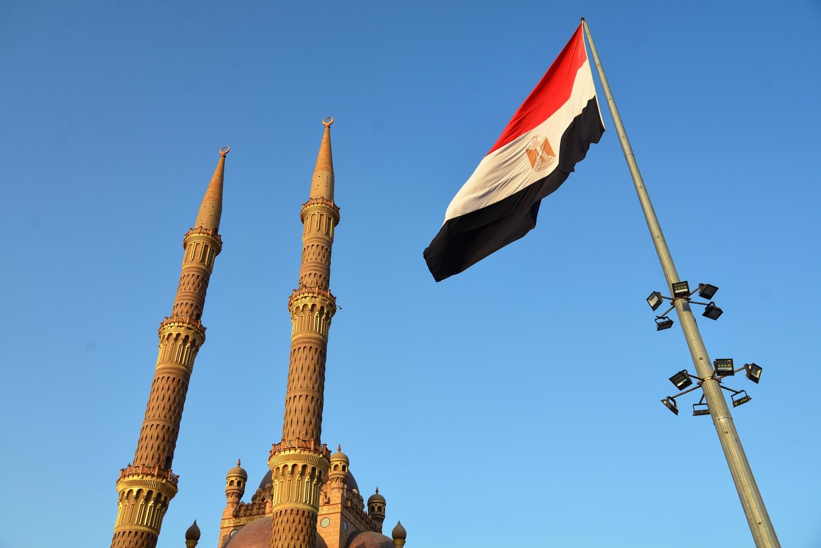 Egypten .. et imponerende satellitbillede af