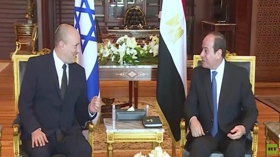 السيسي يدعو للتهدئة بين الفلسطينيين وإسرائيل