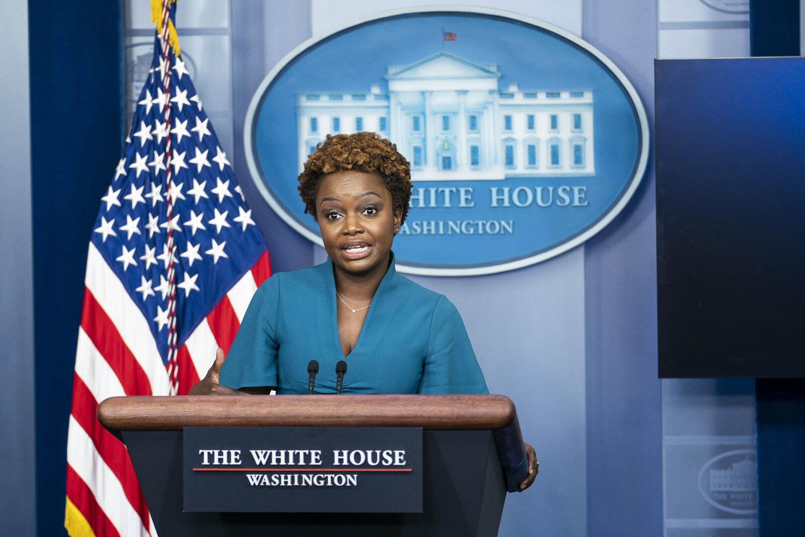 المتحدثة باسم البيت الأبيض كارين جان بيير