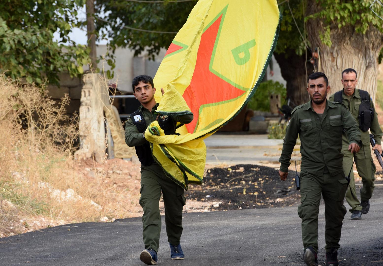 وحدات الحماية الكردية في سوريا