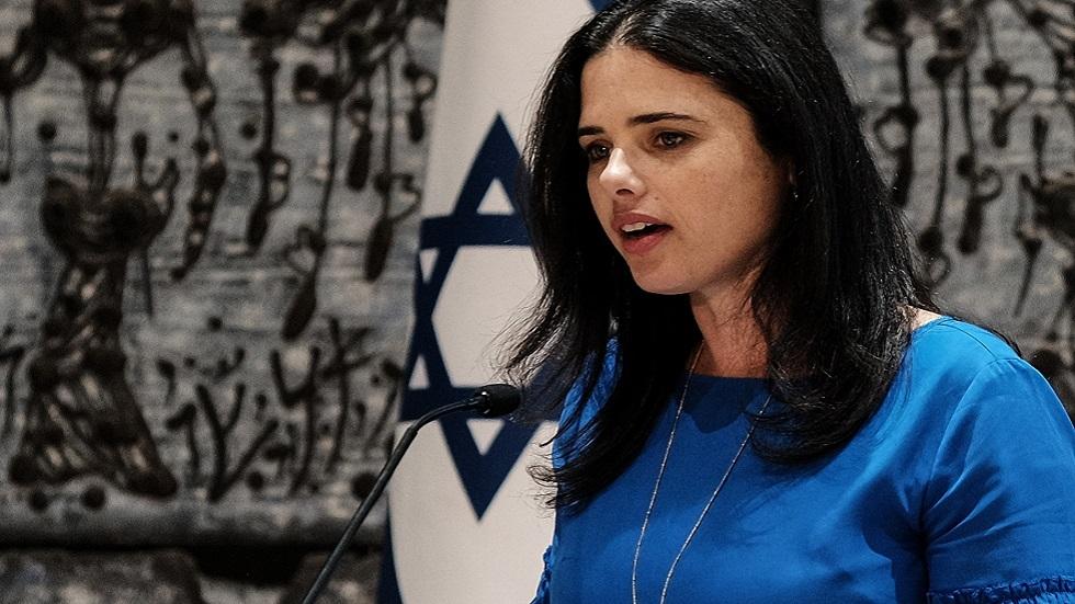 وزيرة الداخلية الإسرائيلية أيليت شاكيد (صورة أرشيفية)