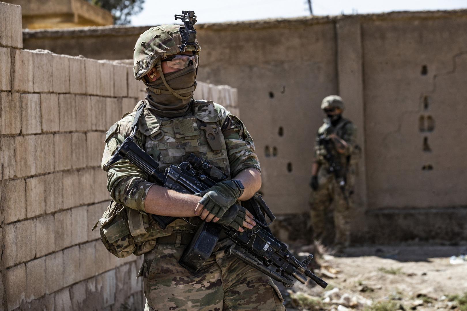 الجنود الأمريكيون في محافظة الحسكة بسوريا