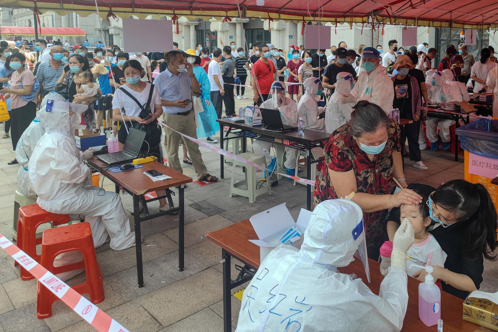 الصين في مواجهة بؤرة جديدة لكورونا بين تلاميذ المدارس