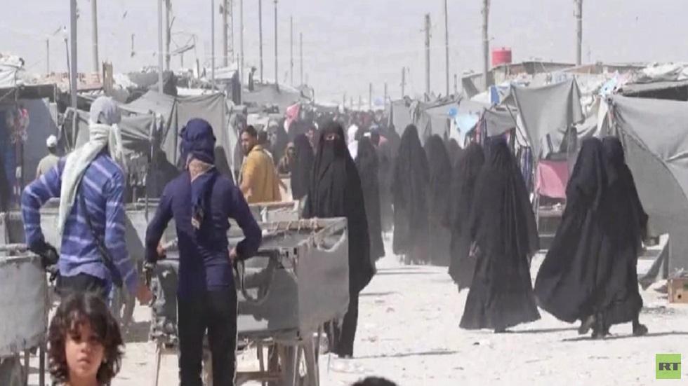 دفعة جديدة من السوريين تغادر مخيم الهول