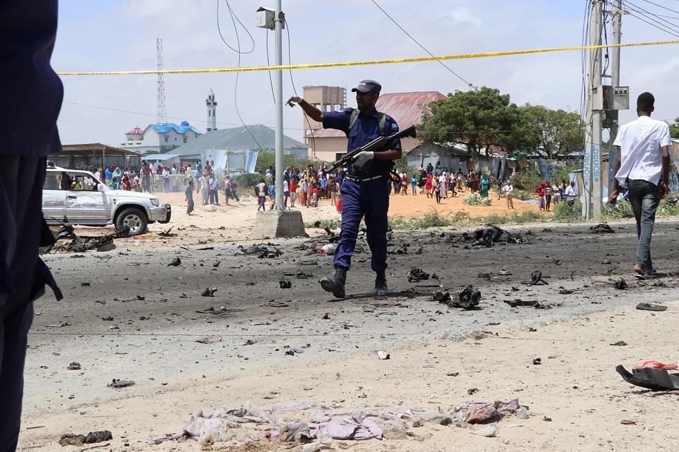 الصومال.. مقتل 10 أشخاص على الأقل في انفجار بالعاصمة مقديشو (صورة من الأرشيف)