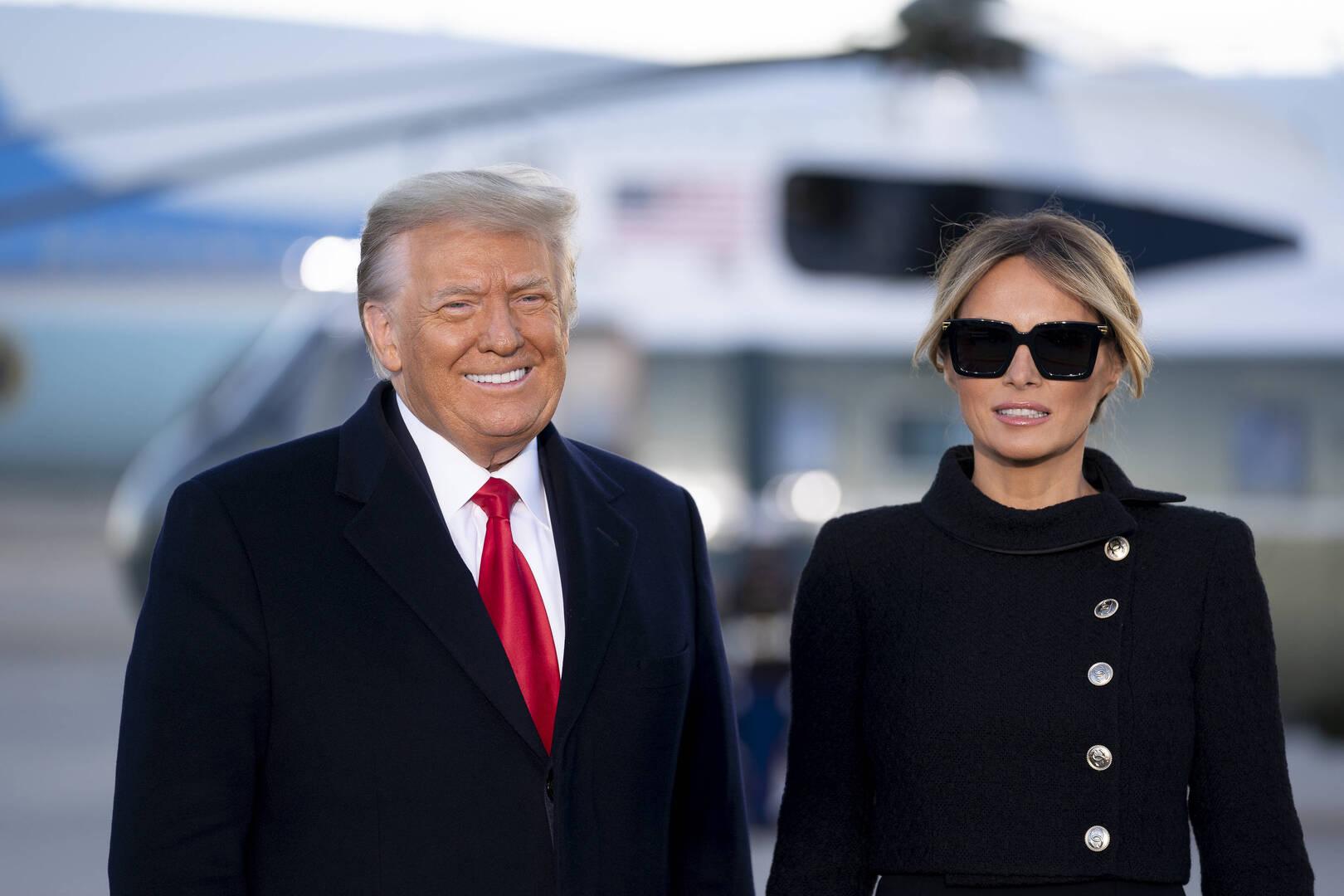 Ny bog afslører Melania Trumps holdning til stormen i Capitol
