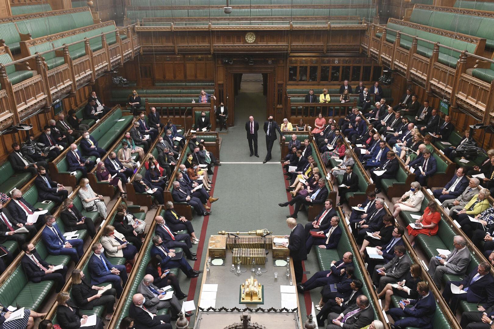 منع السفير الصيني من دخول البرلمان البريطاني
