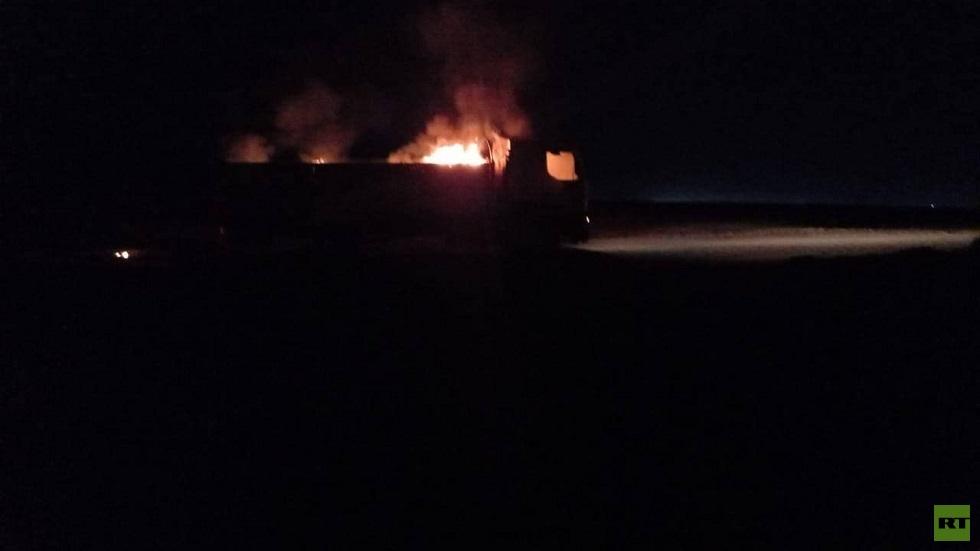 مراسلنا: قصف يطال 3 عربات للحشد الشعبي على الحدود العراقية السورية