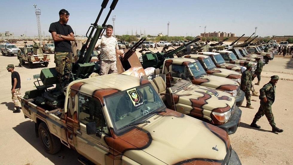 Libyen .. En soldat fra Special Task Force blev dræbt i kampe med tchadiske elementer i den sydlige del af landet