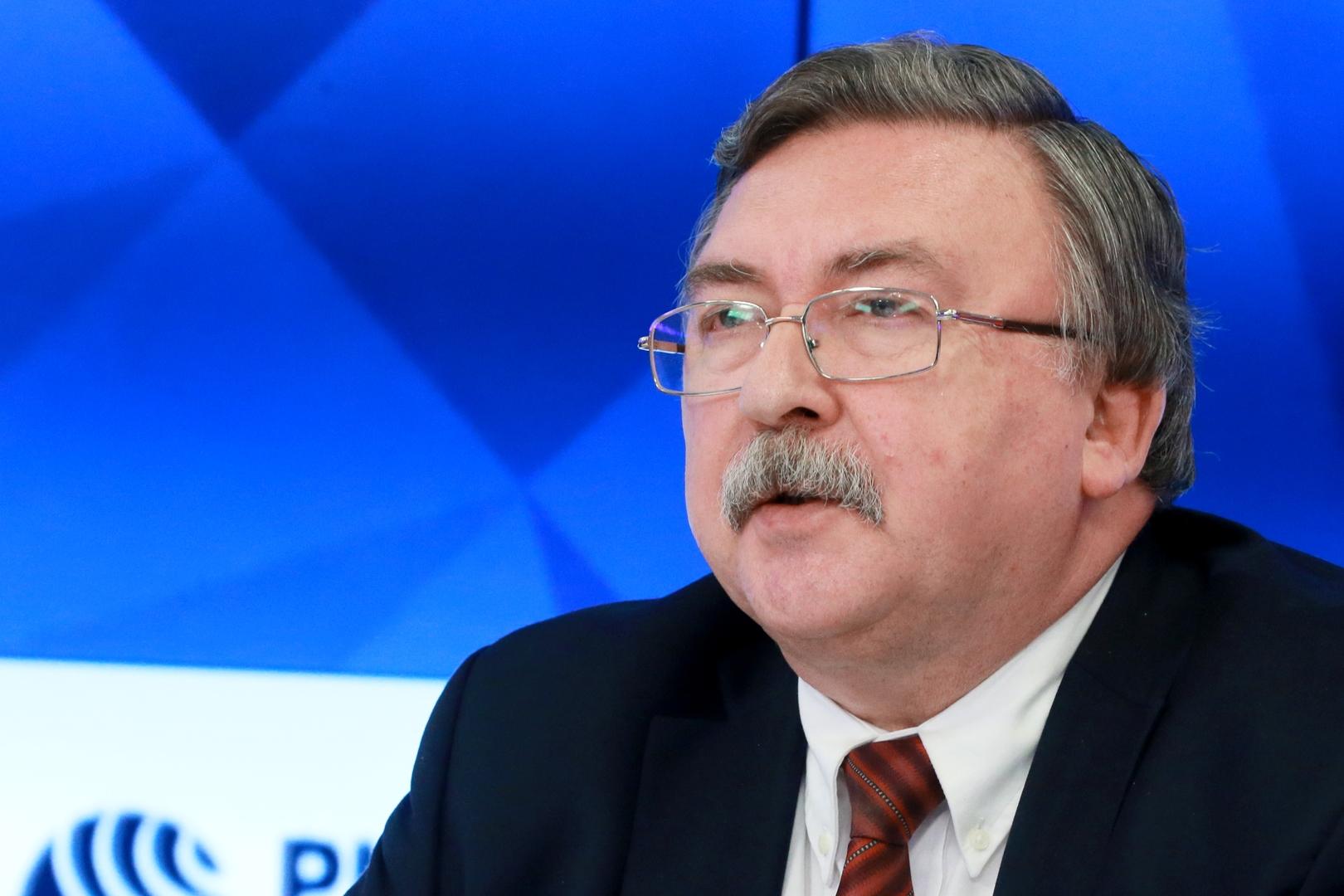 مندوب روسيا الدائم في فيينا ميخائيل أوليانوف