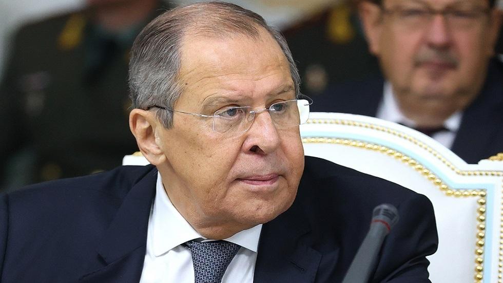 لافروف: روسيا لا تفرض أي شروط على