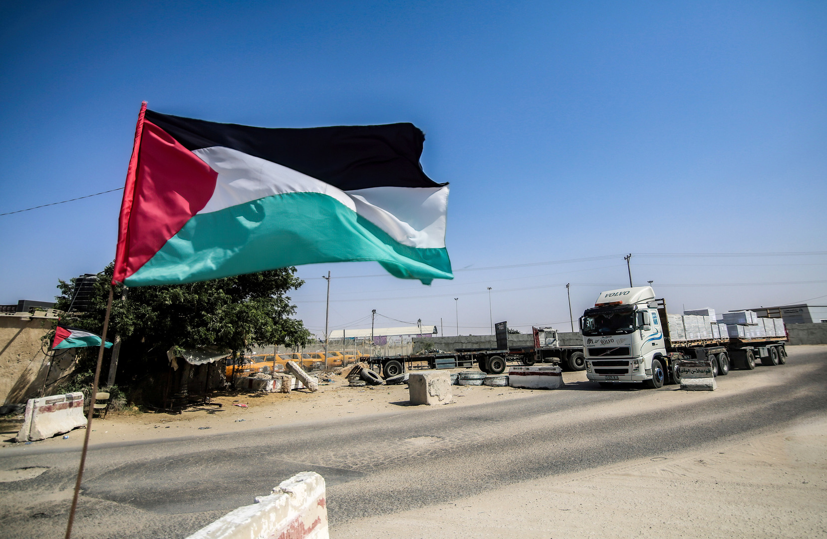 العلم الفلسطيني