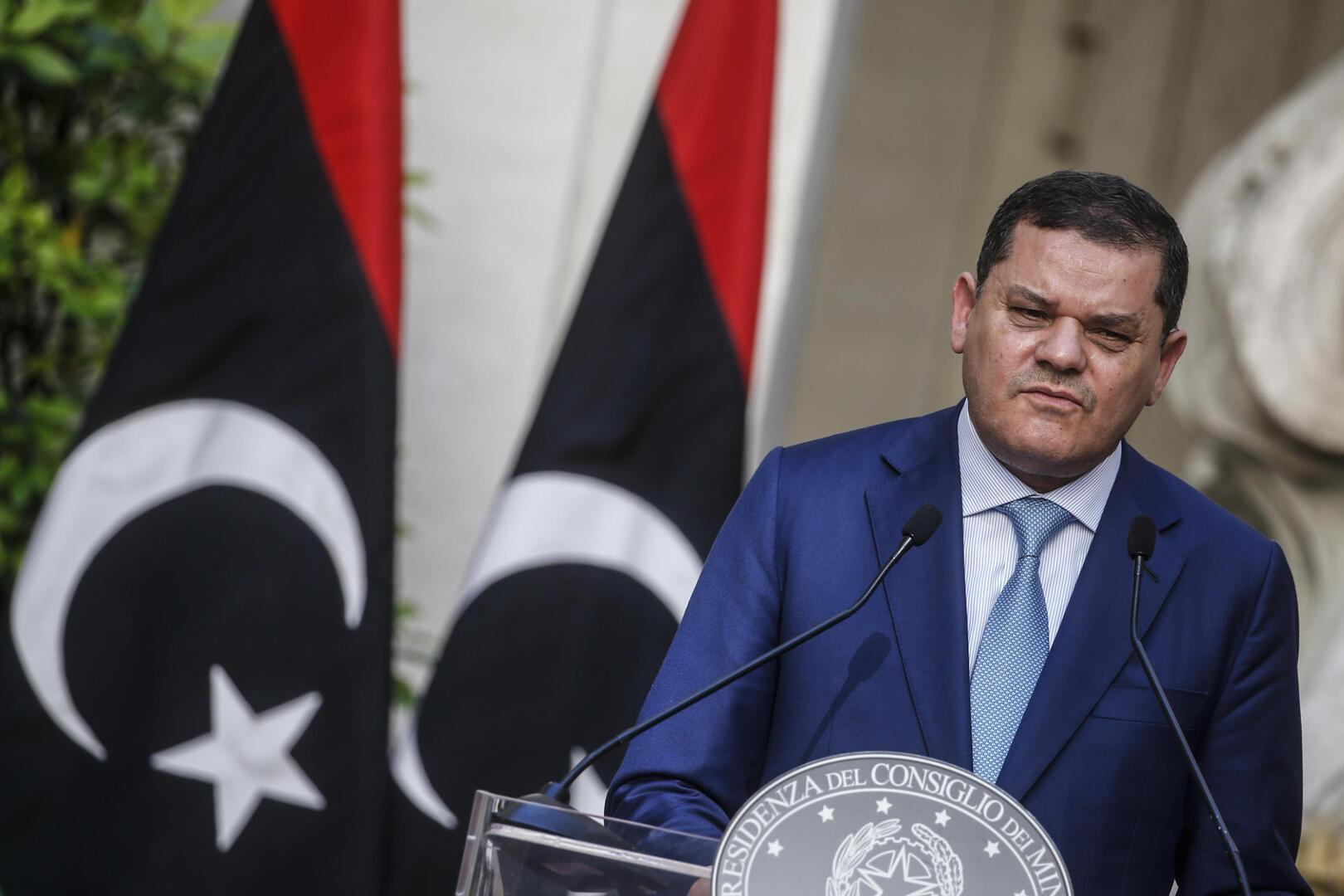 الدبيبة يستقبل وفدا أمريكيا في طرابلس