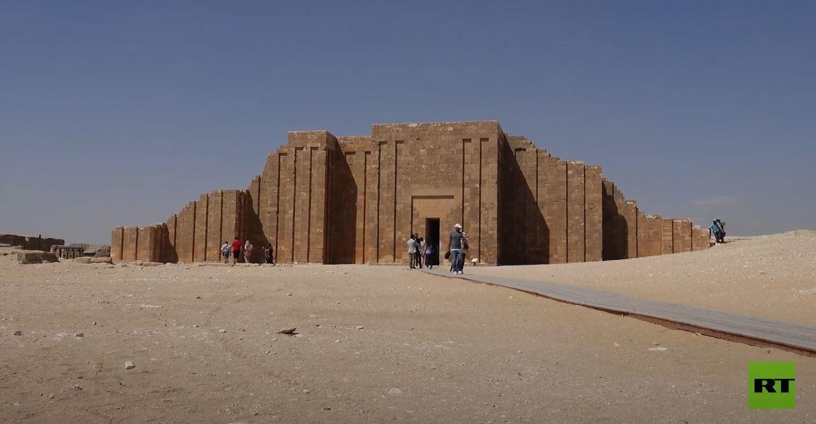 افتتاح مقبرة الملك زوسر بسقارة في مصر بعد 15 عاما من الترميم