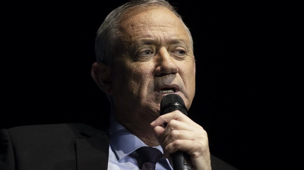 وزير الدفاع الإسرائيلي بيني غانتس (صورة أرشيفية)