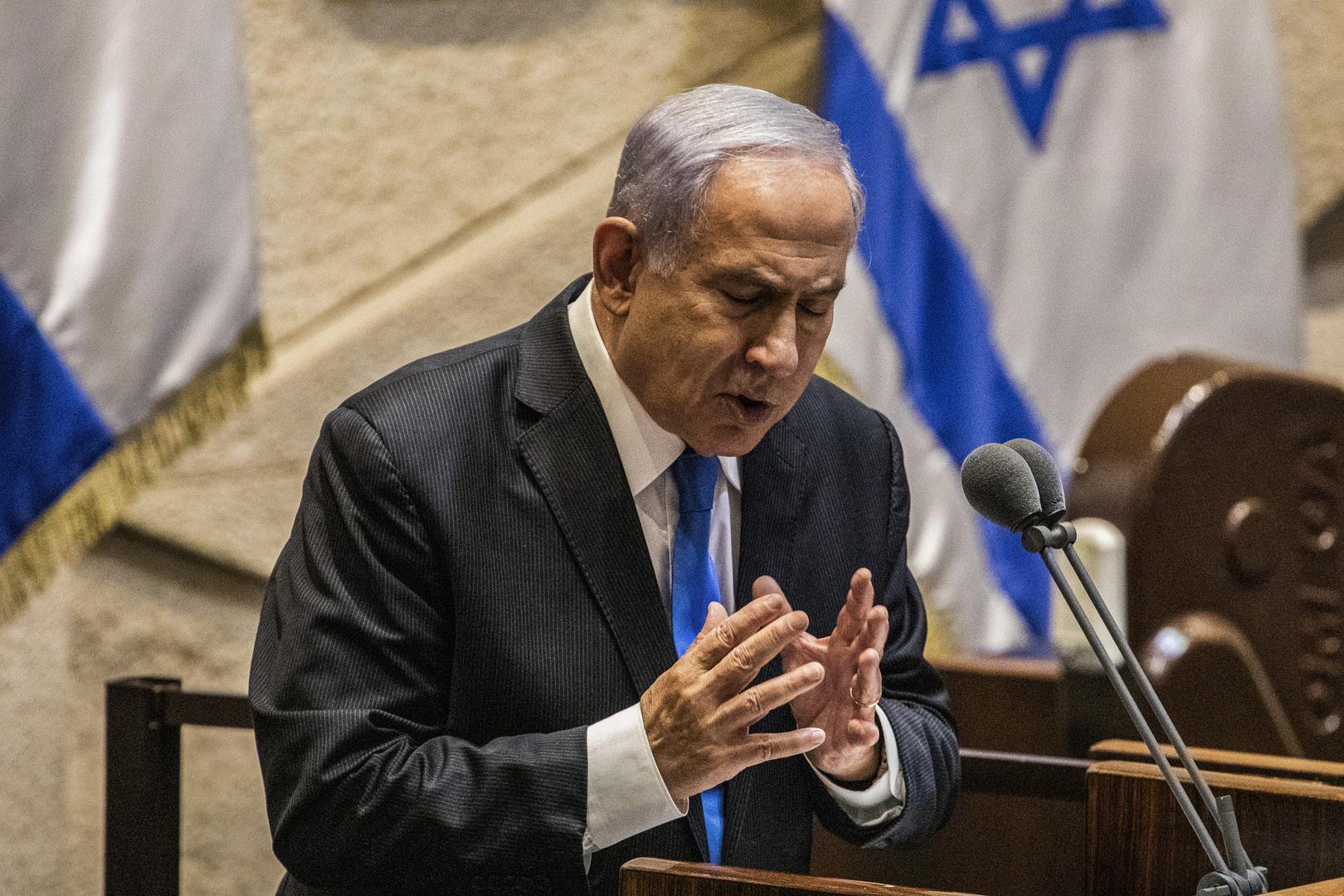 نتنياهو ردا على كلام غانتس عن الاتفاق النووي: حكومة بينيت كارثة كبرى لأمن إسرائيل