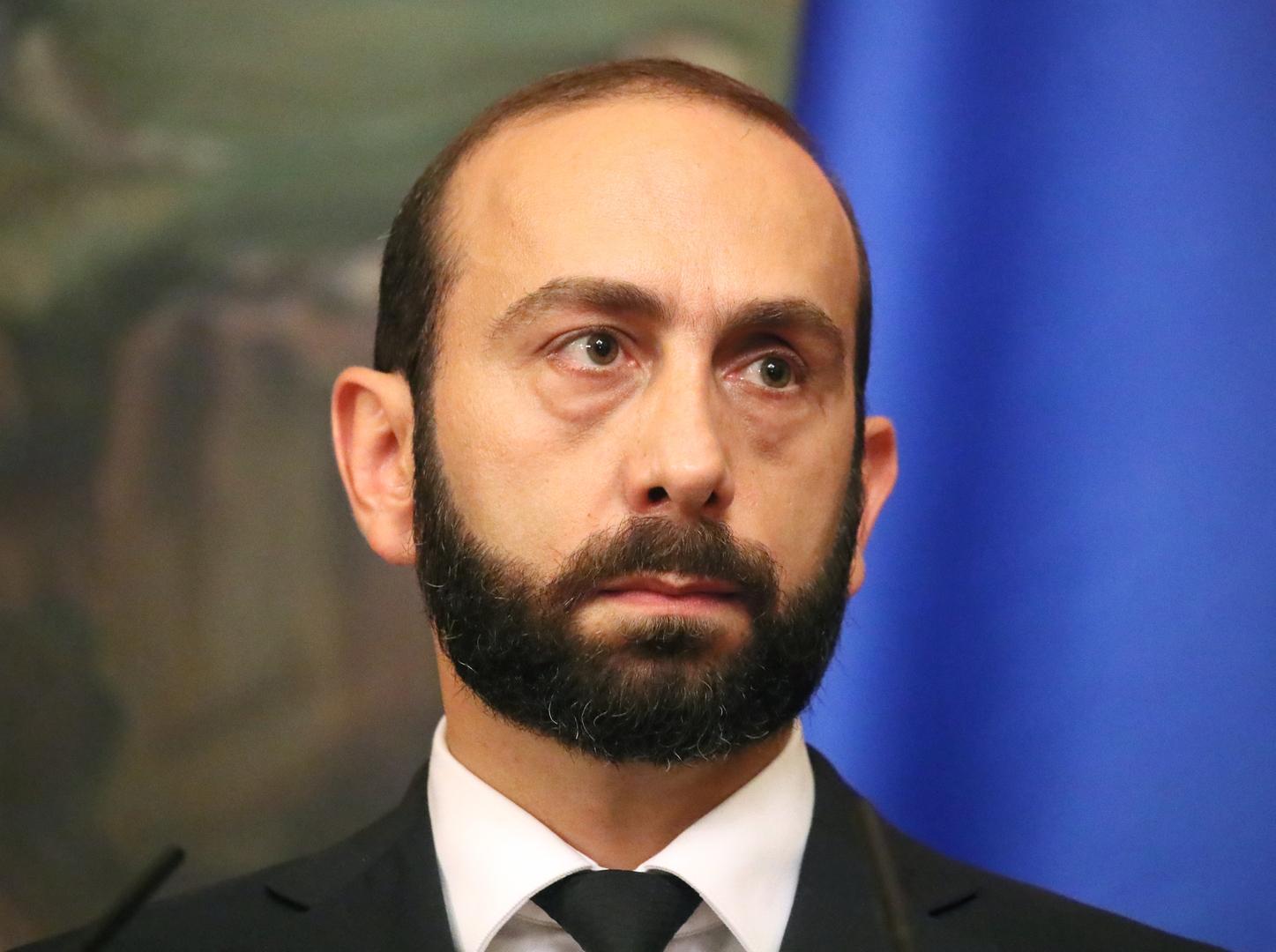 وزير خارجية أمرينيا آرارات ميرزويان
