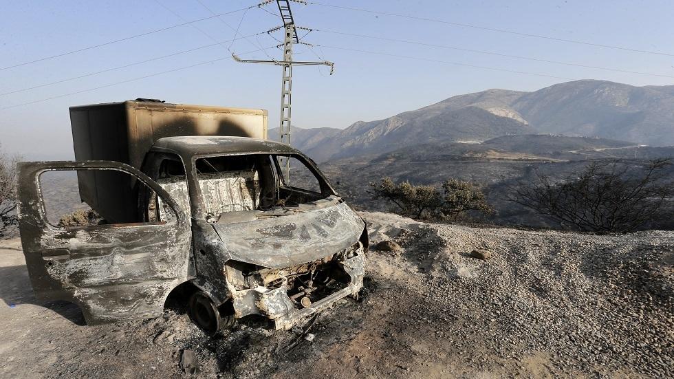 الحرائق في الجزائر