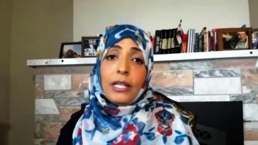الناشطة اليمنية توكل كرمان