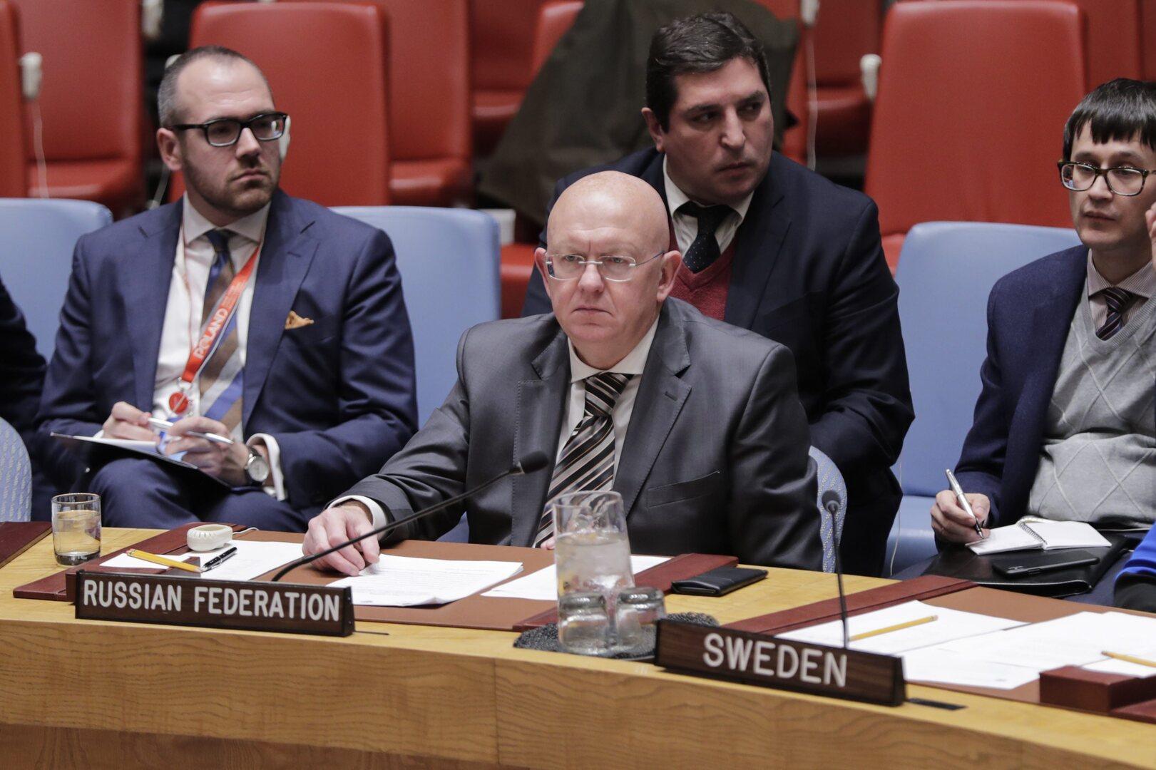 نيبينزيا: المطالبة بدخول المطعمين فقط لقاعة الجمعية العامة للأمم المتحدة غير قانونية