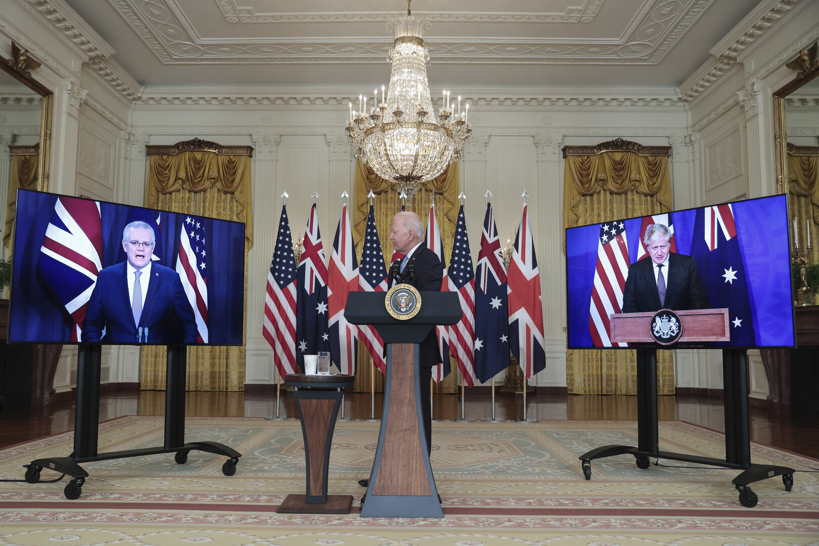 بايدن لم يتمكن من تذكر اسم رئيس الوزراء الأسترالي
