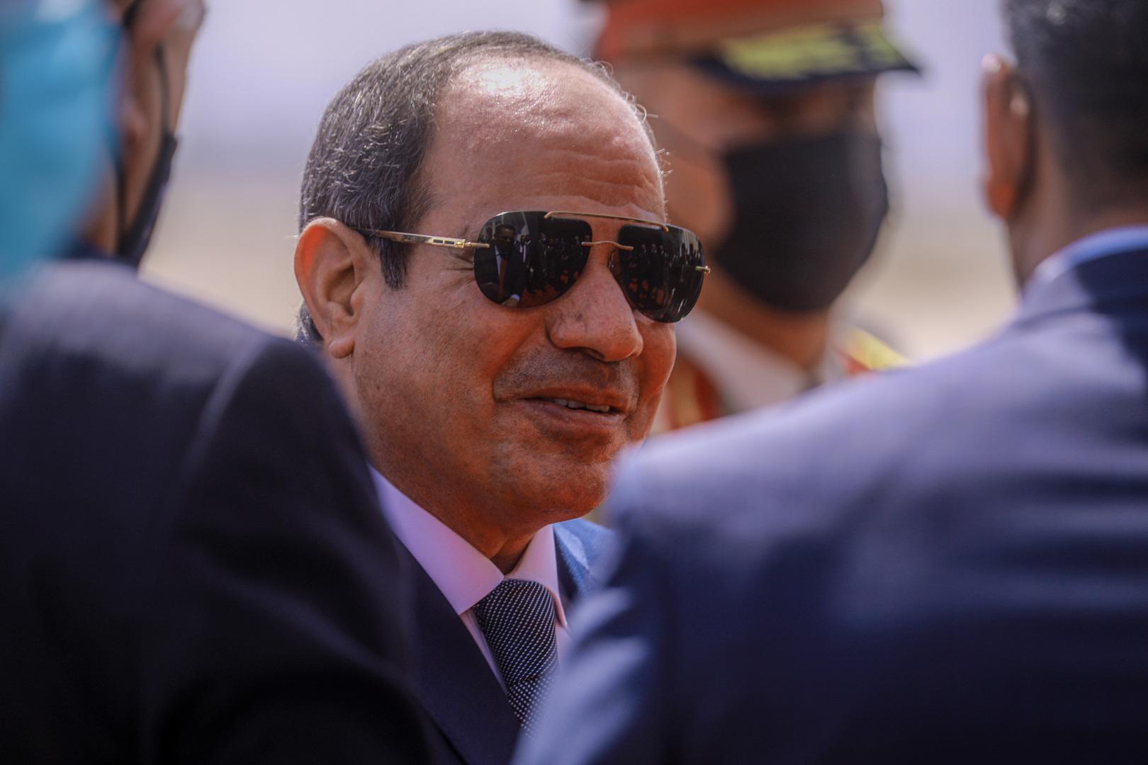 السيسي يستقبل الدبيبة في قصر الاتحادية بالقاهرة