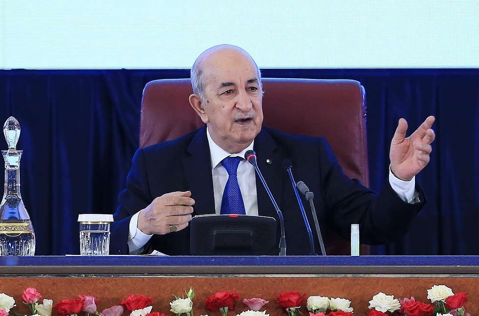 تبون: نرفض التدخل الأجنبي في الشأن الداخلي الليبي