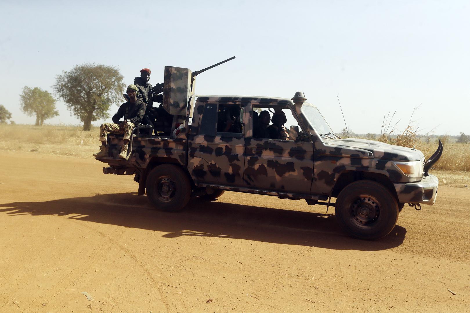 عناصر في الجيش النيجيري.