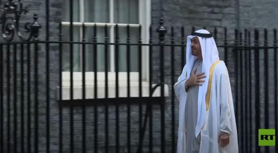 محمد بن زايد يلتقي بوريس جونسون في لندن