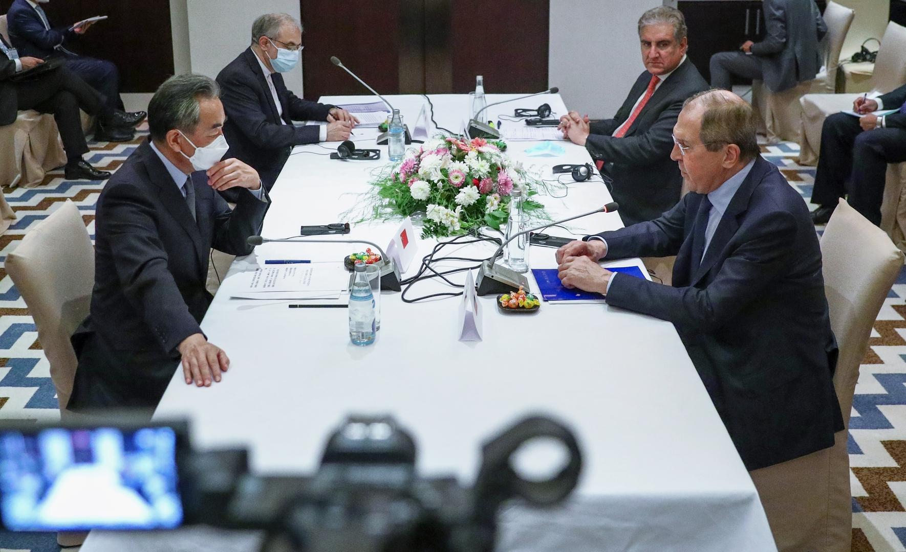 روسيا والصين وباكستان وإيران تنسق المواقف بشأن أفغانستان