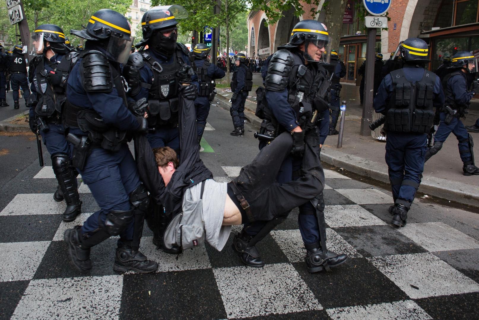 العفو الدولية تحذر من تنامي عنف الشرطة الفرنسية ضد المتظاهرين