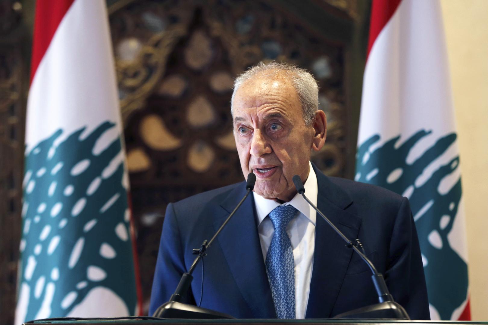 لبنان.. بري يدعو البرلمان إلى جلسة لمناقشة البيان الوزاري والتصويت على الثقة