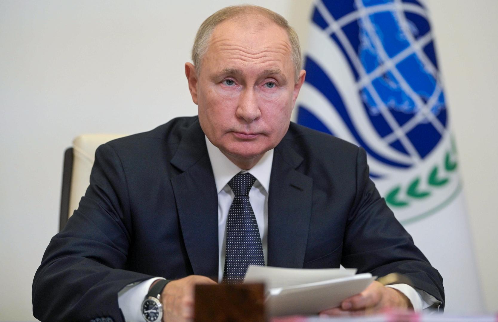 بوتين: انسحاب الناتو من أفغانستان كان بمثابة الهروب ويجب تشجيع