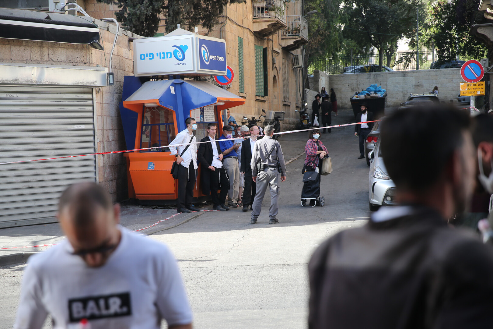 تعرض سائق حافلة فلسطيني للطعن في القدس على يد شبان يهود