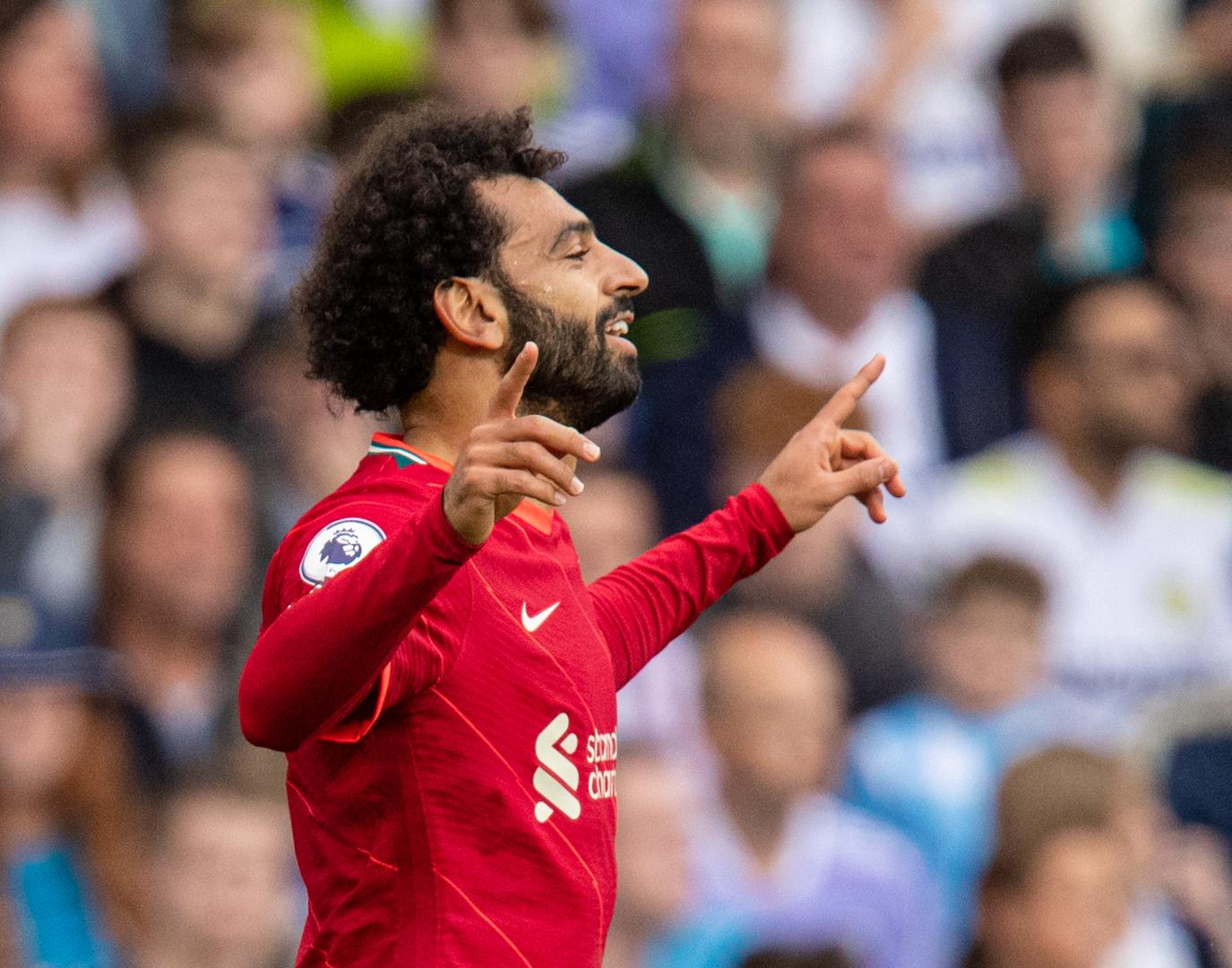 ليفربول يتغنى بمحمد صلاح (فيديو)
