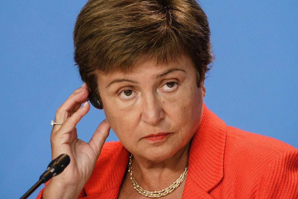 مديرة صندوق النقد الدولي كريستالينا غورغييفا