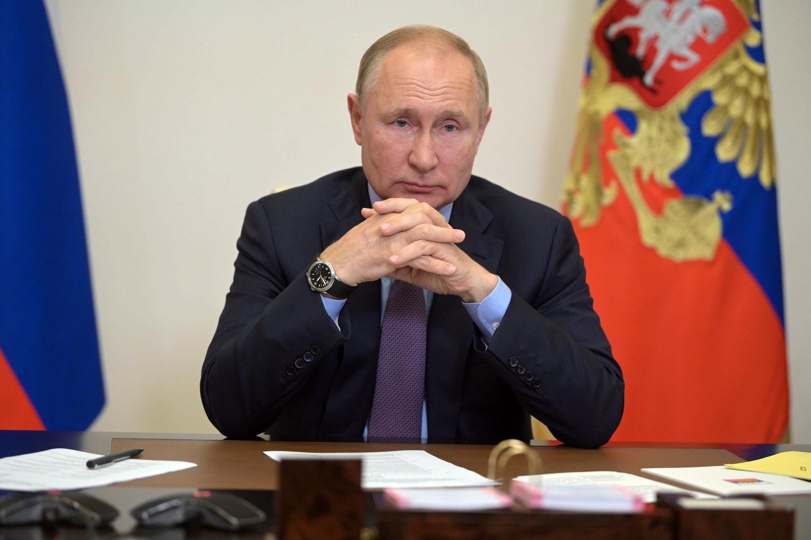 الرئيس الروسي، فلاديمير بوتين.
