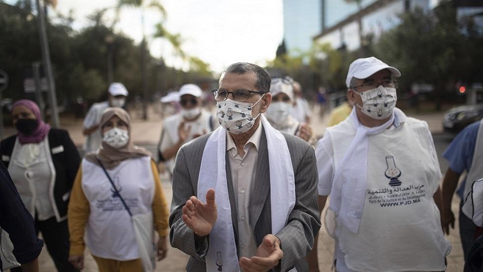 سعد الدين العثماني رئيس الحكومة المغربية المنتهية ولايته