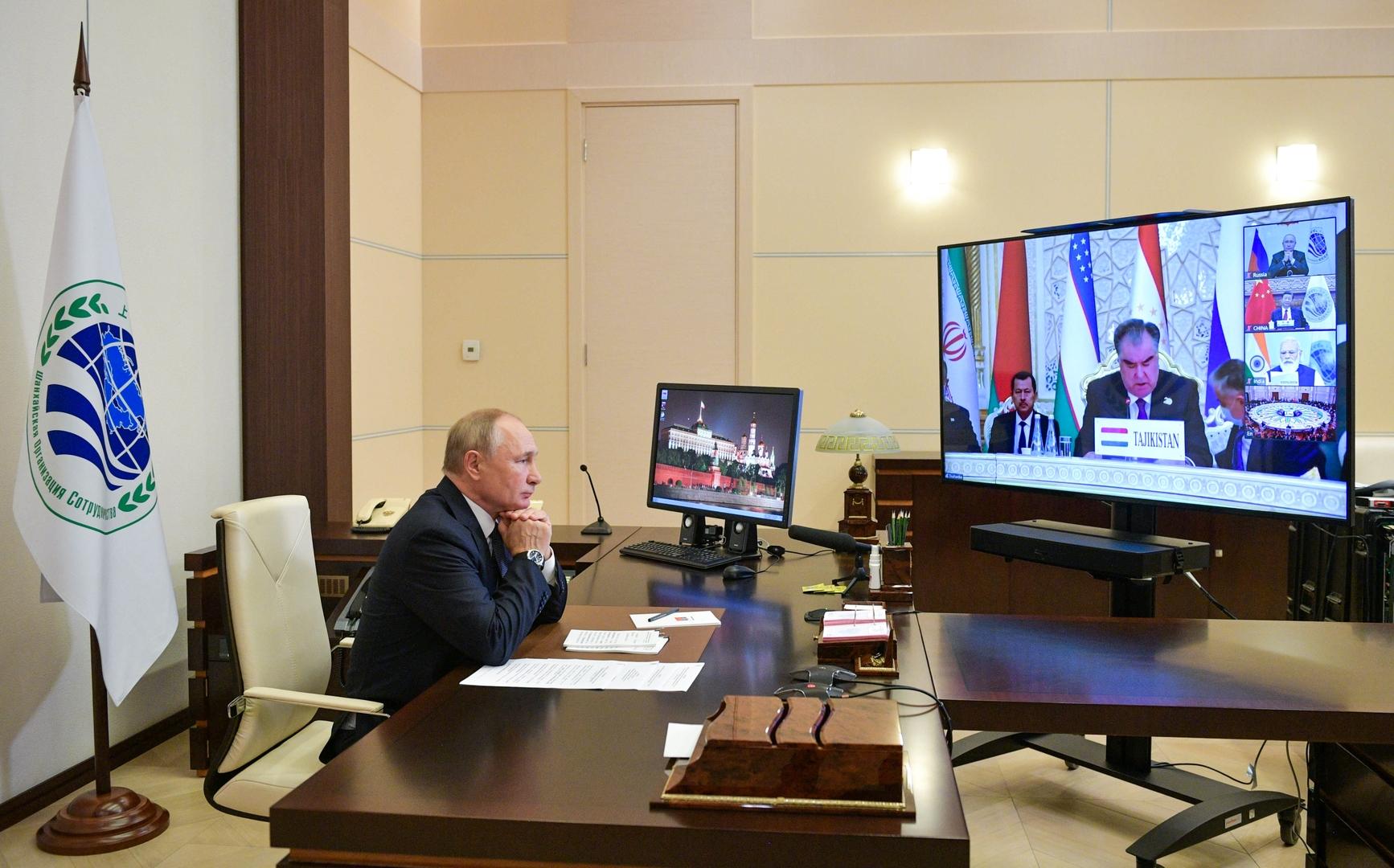 بوتين يبحث مع دراغي التصدي لانتشار الإرهاب وإعادة إعمار أفغانستان