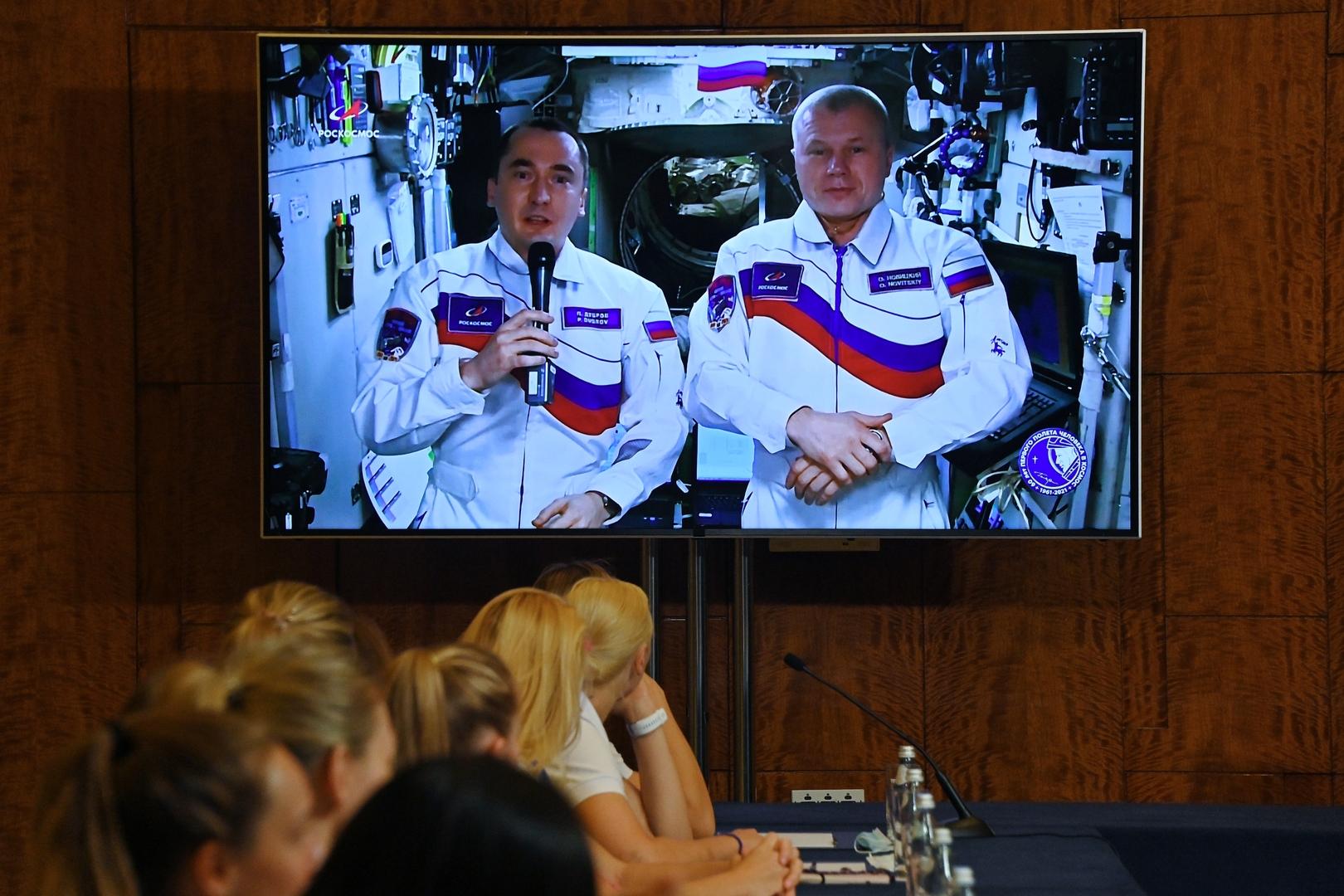 رائدا الفضاء الروسيان يصوتان في انتخابات الدوما من المحطة الفضائية الدولية